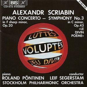 "Image for 'Scriabin: Piano Concerto / Symphony No. 3, ""Le Divin Poeme""'"
