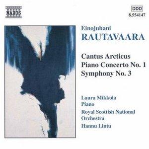Image for 'Cantus Arcticus, Piano Concerto No 1, Symphony No 3'