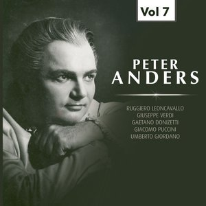 Image for 'Peter Anders, Vol. 7 (1937-1953)'
