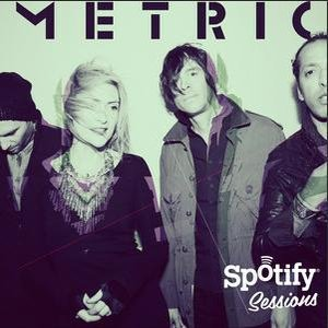 Image for 'Metric Spotify Exclusive Acoustic Session'