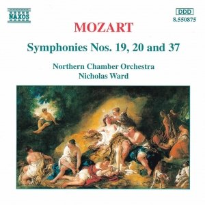 Image for 'MOZART: Symphonies Nos. 19, 20 and 37'