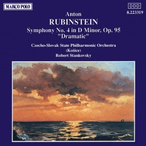 Image for 'RUBINSTEIN: Symphony No. 4, 'Dramatic''