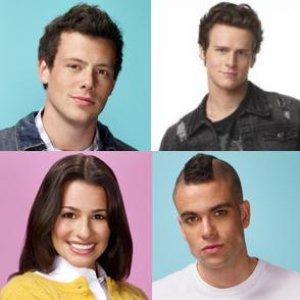 Immagine per 'Lea Michele, Cory Monteith, Mark Salling, Jonathan Groff'