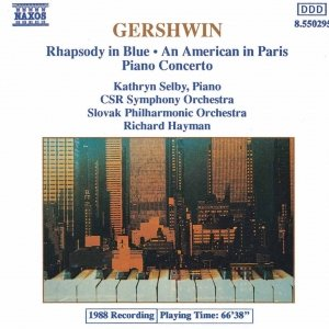 Image for 'GERSHWIN: Rhapsody in Blue / Piano Concerto'