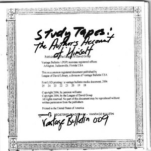 Image for 'Study Tapes: The Author's Account of Himself'
