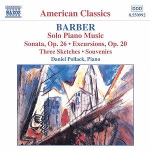 Image pour 'BARBER: Piano Sonata, Op. 26 / Excursions / Souvenirs'