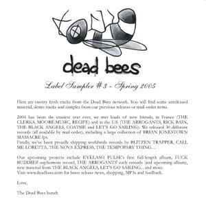 Image for 'Dead Bees Label Sampler #3'