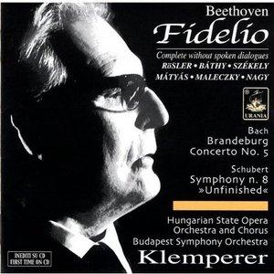 "Image for 'Klemperer - Beethoven: Fidelio; Bach: Brandeburg Concerto No. 5; Schubert: Symphony No. 8, ""Unfinished""'"