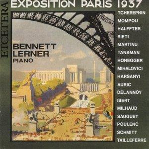 Image for 'Exposition Paris 1937, Milhaud, Poulenc, Tcherepnine, Martinu, Mompo'