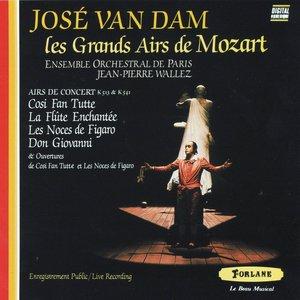 Image for 'José Van Dam : Les grands airs de Mozart'
