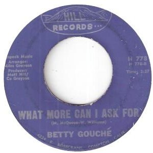 Image for 'Betty Gouche'