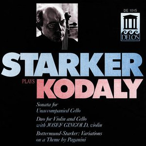 Image for 'Starker plays Kodaly'