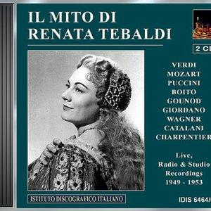 Image for 'Opera Arias (Soprano): Tebaldi, Renata - Verdi, G. / Puccini, G. / Gounod, C.-F. / Mozart, W.A. / Boito, A. / Catalani, A. (Tebaldi) (1949-1953)'