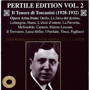 Image for 'Pertile Edition, Vol. 2: Il Tenore di Toscanini'