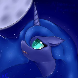 Image for 'Nighttime in Equestria'
