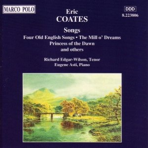Image for 'COATES, E.: Songs'