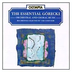 Immagine per 'The Essential Gorecki'