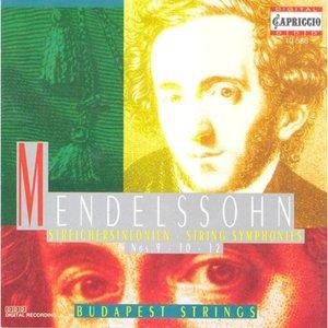 Image for 'Mendelssohn, Felix: Symphonies - Nos. 9, 10, 12'