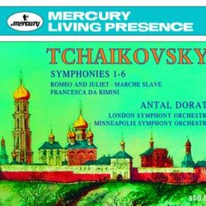 Image for 'Dorati conducts Tchaikovsky'