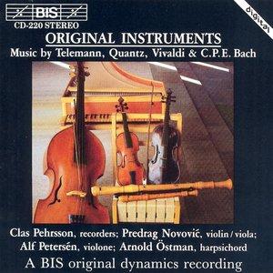 Immagine per 'Telemann / Quantz / Vivaldi / Bach, C.P.E.: Chamber Music for Recorder'