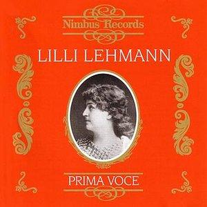 Image for 'Prima Voce: Lilli Lehmann'