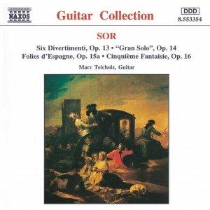Image for 'SOR: 6 Divertimenti, Op. 13 / Cinquieme Fantaisie, Op. 16'