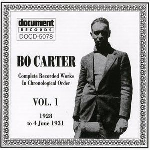 Image for 'Bo Carter Vol. 1 (1928 - 1931)'