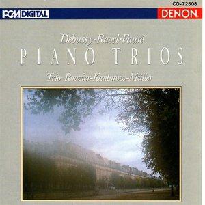 Bild für 'Debussy, Ravel & Faure: Piano Trios'
