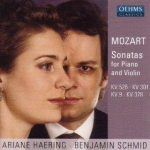 Image pour 'Mozart: Violin Sonatas Nos. 4, 18, 26 and 35'