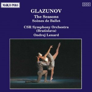 Bild för 'GLAZUNOV: The Seasons / Scenes de Ballet'