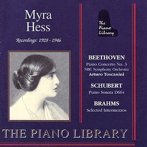 Image for 'Myra Hess Recordings 1928-1946'
