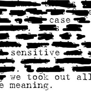 Image for 'We Took Out All The Meaning'