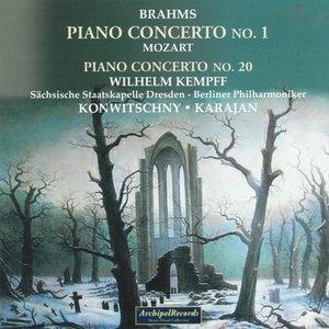 Image for 'Johannes Brahms: Piano Concerto No. 1 - Wolfgang Amadeus Mozart: Piano Concerto No. 20'