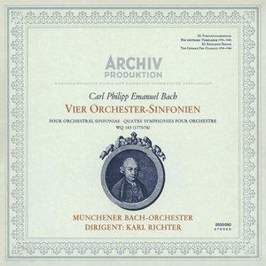 Image for 'Bach, C.P.E.: Symphonies Nos.1 - 4'