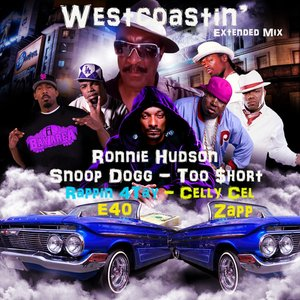 Image for 'Westcoastin' (feat.Snoop Dogg, E40, Too $hort, Rappin' 4Tay, Celly Cel & Zapp Troutman) - Single'