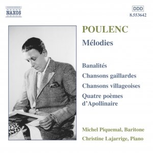 Image for 'POULENC: Melodies'