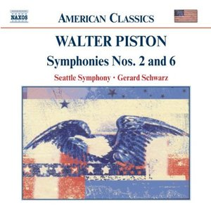 Image for 'PISTON: Symphonies Nos. 2 and 6'