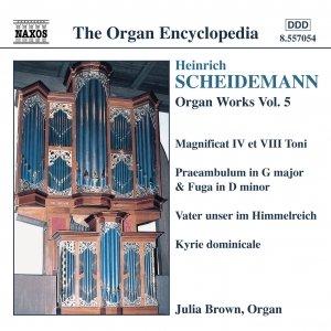 Image for 'SCHEIDEMANN: Organ Works, Vol.  5'