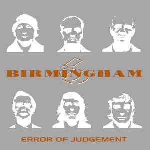 Image for 'Error of Judgement'