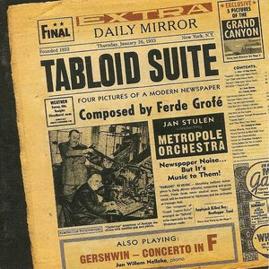Image for 'Tabloid Suite - Four Pictures of a Modern Newspaper'