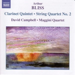Image for 'BLISS: Clarinet Quintet / String Quartet No. 2'