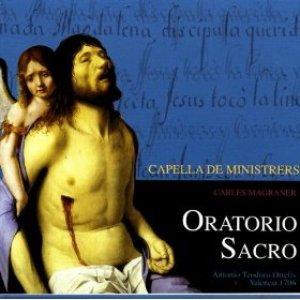 Image for 'Antonio Teodoro Ortells:  Oratorios Sacro - Capella Minitrers - Carles Magraner'
