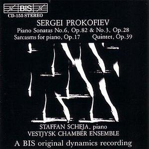 Image for 'PROKOFIEV: Piano Sonatas Nos. 3 and 6 / Sarcasms, Op. 17 / Quintet, Op. 39'