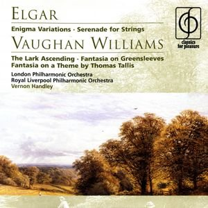 Image for 'Elgar Enigma Variations, Vaughan Williams The Lark Ascending'