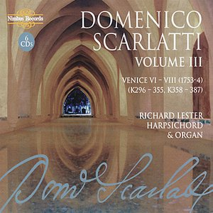 Image for 'Scarlatti: The Complete Sonatas, Vol. III'