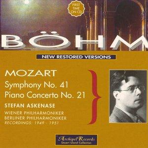 Image for 'Mozart : Symphony No.41, Piano Conceto No.21'
