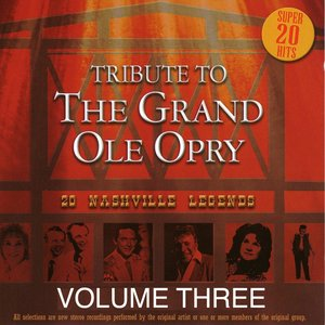 Image for 'Tribute to the Grand Ole Opry - Vol. 3'