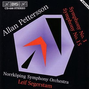 Image for 'PETTERSSON: Symphony Nos. 3 & 15'