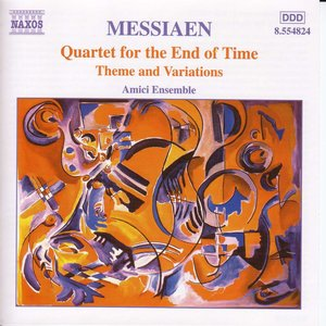 Bild für 'MESSIAEN: Quartet for the End of Time'