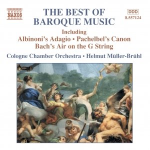 Bild för 'BEST OF BAROQUE MUSIC (COLOGNE CHAMBER ORCHESTRA)'